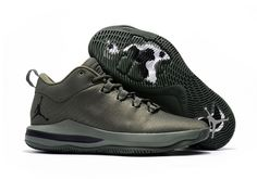 7d1df786216c5b Mens Nike Air Jordan CP3 X Basketball Shoes Army Green