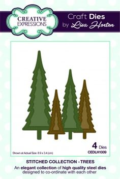 Image result for creative expressions stitched trees