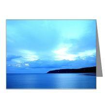 Blue Ocean Note Cards (Pk of 10)