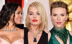 Trend von den Oscars - Das Revival der Statement-Kette: Scarlett Johansson, Cate Blanchett, undJohn Travolta trugen zur Oscarverleihung XXL-Ketten um den Hals. Die skurrilsten und schönsten Bilder.