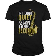 Funny saxophone Tee Shirt