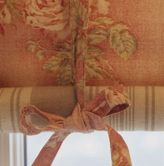 Her Peach Orchard. Drapes And Blinds, Drapes Curtains, Valances, Window Coverings, Window Treatments, Kate Forman, Pelmets, Shades Of Peach, Peach And Green