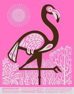 Pink Flamingo - MY favorite drink of all time. Why you ask? Well, it's delicious and was invented just for me. That's how awesome I am!