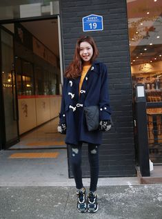 korean winter street fashion 2015 - Google Search