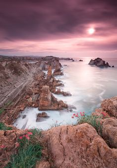 Sunset @ Los Urros ~ Spain by Eric Rousset on 500px