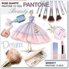 polyvore rose quartz and serenity - Google Search