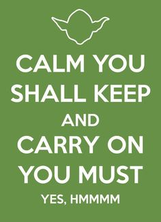 poster with yoda advice.