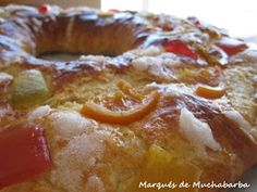 Roscón de Reyes Panificadora Sin Gluten, Flan, Stevia, French Toast, Good Food, Food And Drink, Bread, Dishes, Breakfast