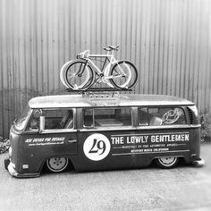 VW Crewbus Fixed Gear T1 ❤️