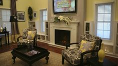 Extreme Makeover Home EDITION - Família Tutwiler, - Sala, em Extreme Makeover Home Edition, domingo, 25 de janeiro sobre a rede de televisão ABC.