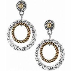 Rapture Rings Post Earrings available at Women's Earrings, Silver Earrings, Brighton, Bling, Charmed, My Style, Bracelets, Gold, Jewelry