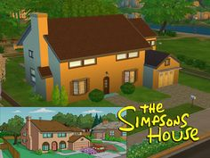TS4 Simpsons House by Lainchen.