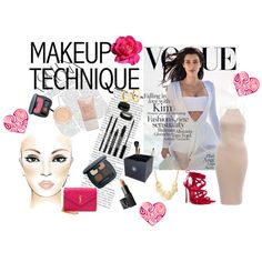 Make-up technique KK by malirybka1989 on Polyvore featuring beauty, Bare Escentuals, Lord & Berry, Pieces, NARS Cosmetics, Chanel, Bar III, Yves Saint Laurent, AX Paris and Casadei