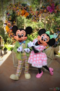 Springtime Roundup with Mickey and Minnie