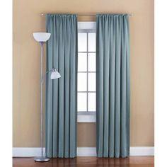 Mainstays Solid Room Darkening Curtain Panel