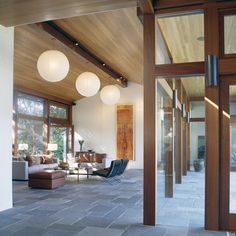 Slate Floor Beam Ceiling Design Ideas, Pictures, Remodel, And Decor   Page 3