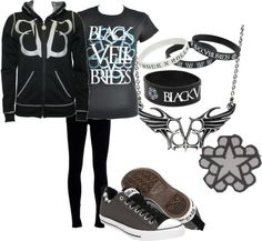 """BVB"" by mynameishelena ❤ liked on Polyvore"