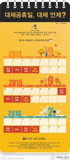 [Infographic] 대체공휴일에 관한 인포그래픽
