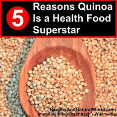 5 Healthy Reasons to Eat Quinoa