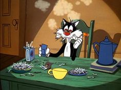 Sylvester.. He must work where I do!