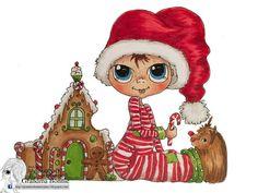 DESCARGAR INSTANT Digital Digi sellos grandes ojo cabeza grande muñecas nuevo Besties img701 My Besties por Sherri Baldy
