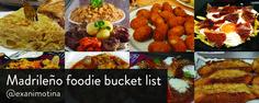 Madrileño foodie bucket list - The Cheap In Madrid Blog