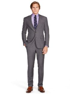 Polo I Wool Sharkskin Suit - Polo Ralph Lauren Suits - RalphLauren.com