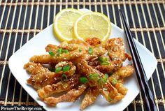 PTR Lemon Chicken (Chinese Style)