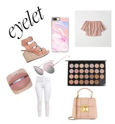 """EYELET"" by holliefashionista ❤ liked on Polyvore featuring Casetify, Alexander Wang, Fendi, Abercrombie & Fitch and Sonia Rykiel"