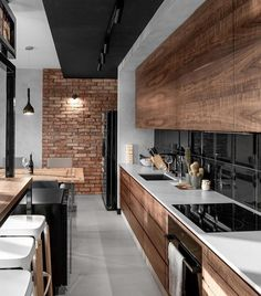 """Mi piace"": 31.5 mila, commenti: 134 - Art & Architecture Magazine (@modern.architect) su Instagram: ""Thoughts about this kitchen in #Gdańsk? — Sikora Wnetrza, #Polland"""