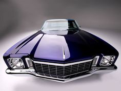 1972 Chevy Monte Carlo...so cool.