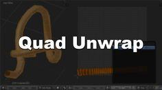 Blender Addon List: Addon: Quad Unwrap