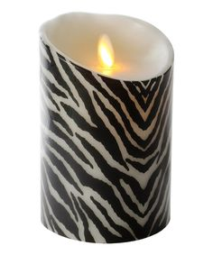 Look at this Zebra 5'' Flameless LED Candle by Luminara Candles US