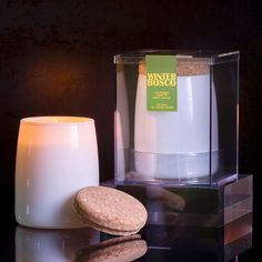 Winter Bosco Scented Long Lasting Soy Candle by Aesthetic Content