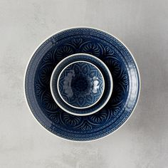 "Made from durable stoneware and hand-glazed in vibrant hues, this beautifully-patterned bowl adds texture to the table for serving and snacking.- Glazed stoneware- Dishwasher safe; do not microwave- Crackle glaze appearance will develop with use- ImportedSmall: 1.2""H, 0.8""D, 3.75"" diameter, 1.8"" diameter at baseMedium: 1.4""H, 1.2""D, 4.4"" diameter, 1.8"" diameter at baseLarge: 1.8""H, 1.7""D, 5.75"" diameter, 2.4"" diameter at baseExtra Large: 2.8""H, 2.7""D, 10.2"" diameter, 4.2"" diameter at base"