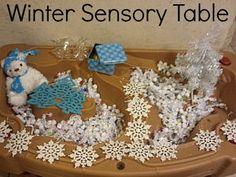 Winter Sensory Table