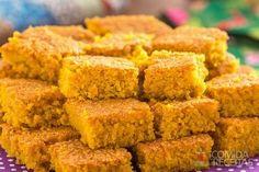 Receita de Bolo de cenoura com farinha de aveia em receitas de bolos, veja essa e outras receitas aqui!