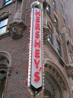 Hershey store in Chicago.Gonna have to plan a visit! on Michigan Ave! Chicago Trip, Visit Chicago, Chicago Usa, Chicago Shopping, Chicago Travel, Chicago City, Chicago Illinois, Vacation Places, Vacation Spots