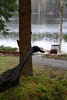 Risulintu Bald Eagle, Decorations, Bird, Plants, Animals, Animales, Animaux, Dekoration, Birds