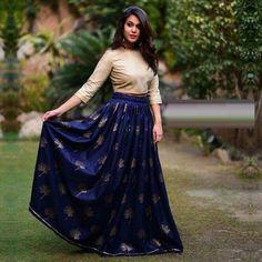 Navy Blue Colour Banglori Silk Fabric Party Wear Lehenga Choli Comes with matching blouse. This Lehenga Choli Is crafted with Embroidery This Lehenga Choli Comes with Unstitched Blouse Which Can Be St. Lehenga Crop Top, Lehenga Skirt, Lehnga Dress, Lehenga Blouse, Lehenga Choli, Sarees, Black Lehenga, Green Lehenga, Indian Lehenga