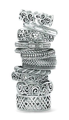 Brighton designs bangles that look fantastic when worn alone but also are ideal for stacking. Shop silver and gold bangles, textured bangles, watches and more. Cute Jewelry, Silver Jewelry, Jewelry Accessories, Jewelry Design, Silver Earrings, Best Engagement Rings, Antique Engagement Rings, Bangle Bracelets, Bangles