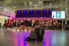 Kerst Sing A Long in het Atrium Den Haag