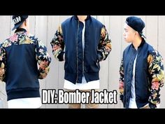 How to Make a Bomber Jacket from Scratch - YouTube