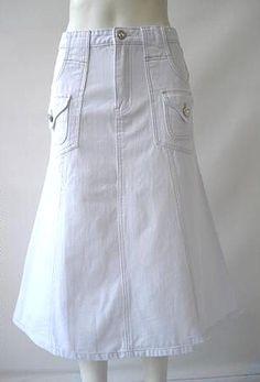 Welcome to JustDenimSkirts.com , Long Denim Skirts