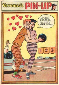 Veronica Archie Comics, Archie Comic Books, Best Comic Books, Comic Books Art, Comic Art, Vintage Cartoon, Comics Vintage, Vintage Comic Books, Comics Girls
