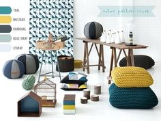 Mustard living room inspo deep teal mustard yellow and charcoal gray love master bedroom color scheme inspiration Bedroom Colour Schemes Inspiration, Bedroom Color Schemes, Living Room Inspiration, Bedroom Colors, Furniture Inspiration, Mustard Living Rooms, Living Room Grey, Grey Room, Teal Accent Walls