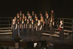 Upper School Choir performed at the Winter Choral Concert. December 2013