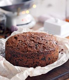 Mary Berry's Rich Fruit Christmas Cake | holiday dessert from 'Mary Berry's Complete Cookbook' | via Delicious Magazine