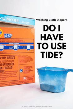 Do I have to wash cloth diapers with Tide? Learn more about cloth diaper wash routine advice. Cloth Diaper Detergent, Wash Cloth Diapers, Washing Detergent, Cloth Nappies, Cloth Diaper Storage, Modern Washing Machines, Diaper Brands, Research Skills, Homemade Baby Foods