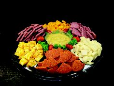 pictures of deli meat and cheese tray